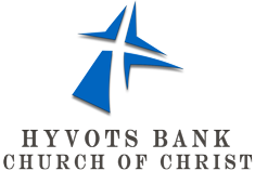 Hyvots Bank church of Christ Logo
